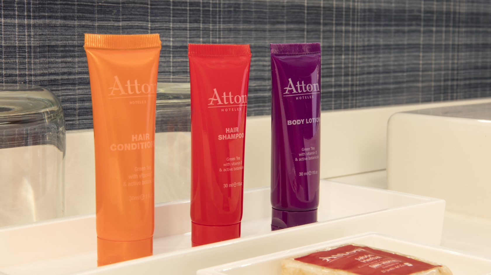 Atton Brickell Miami bathroom amenities
