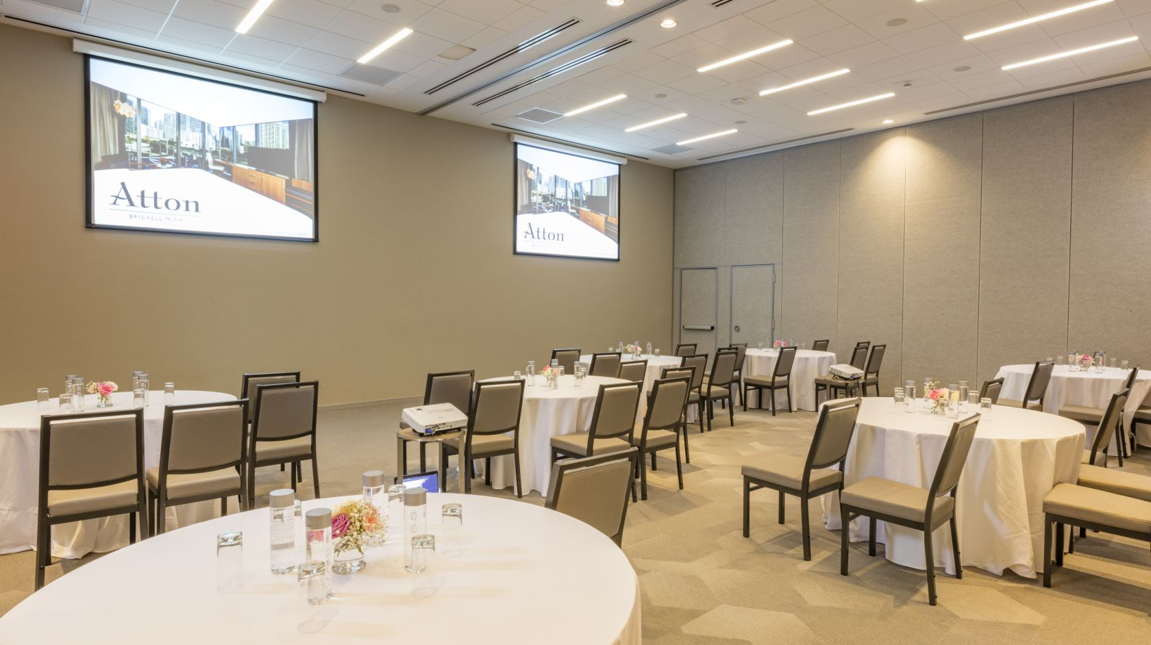 meeting space available at Atton Brickell Miami FL