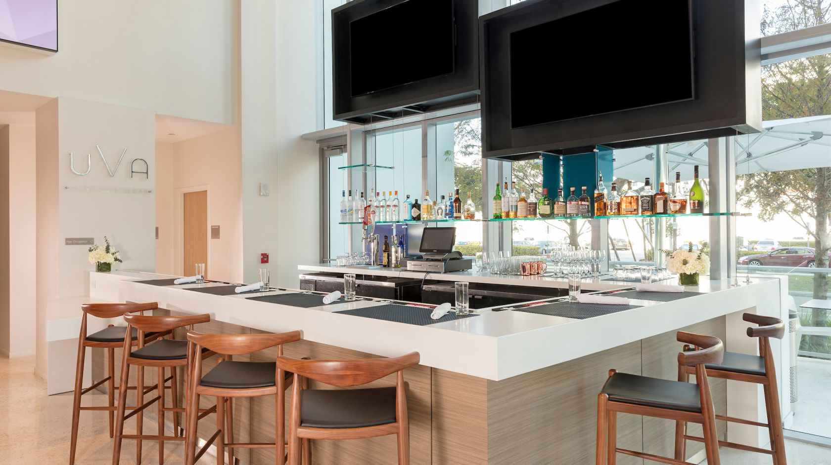 UVA lobby bar at Atton Brickell Miami