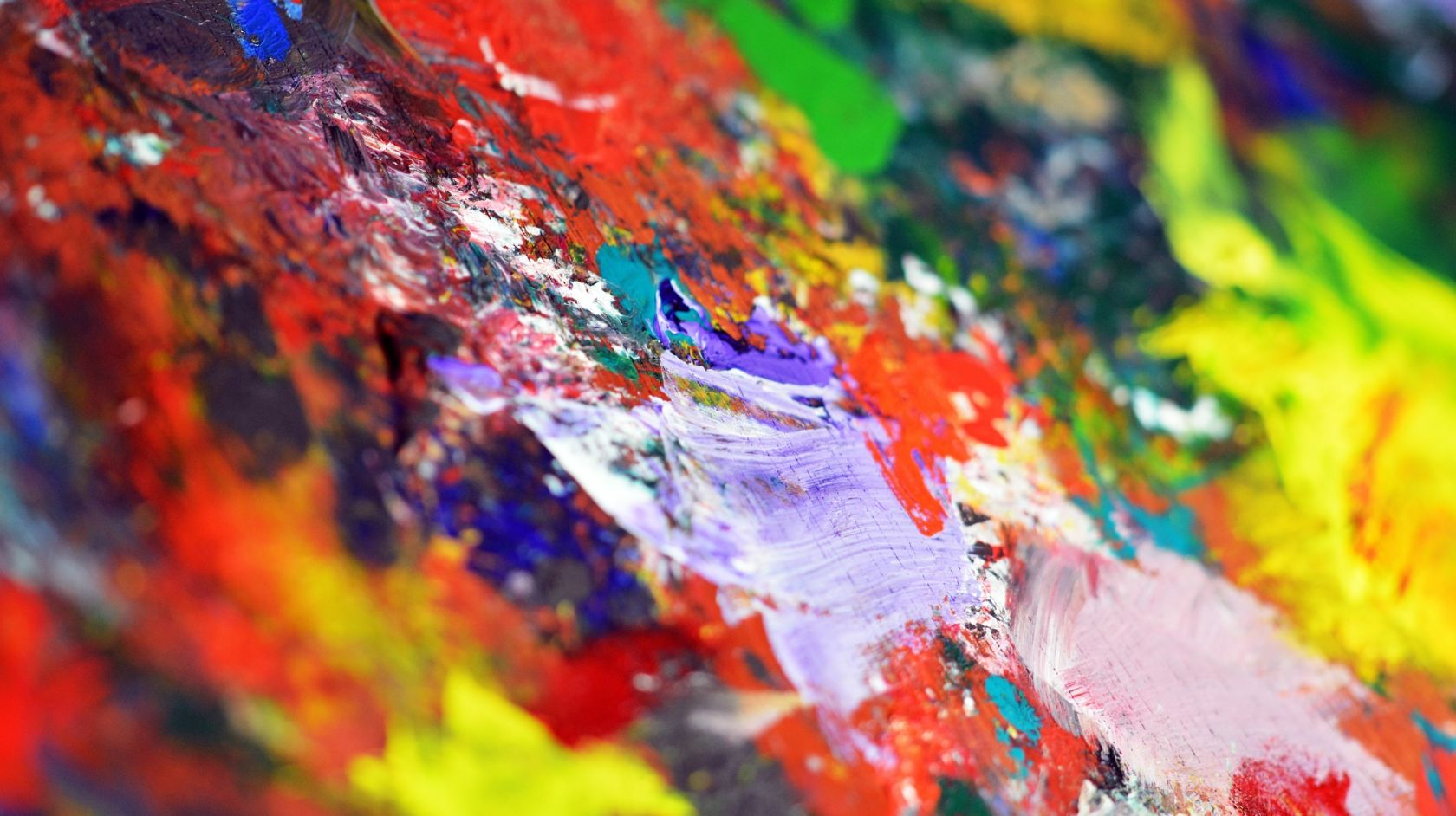 A Close Up Of A Colorful Background